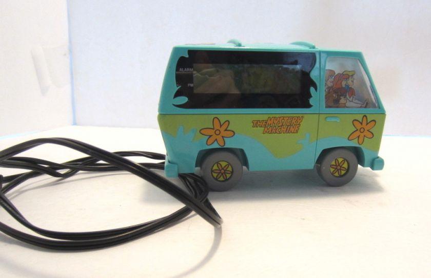 Scooby Doo Mystery Machine Van Electric Alarm Clock