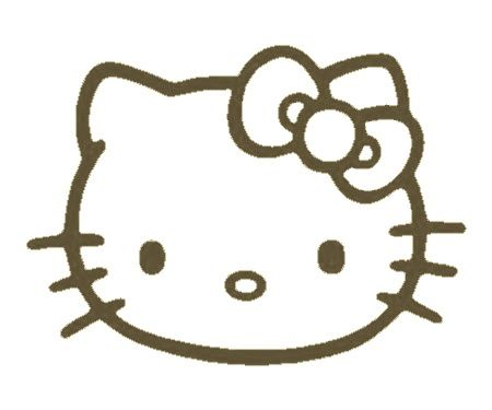 Hello Kitty Car Auto Window Stickers Decals Any Color