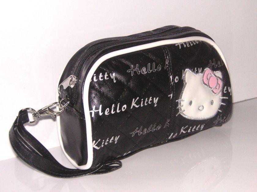 NEW HELLO KITTY COSMETIC HAND BAG MAKE UP CASE HA 1850B
