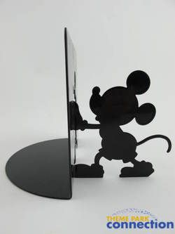 Disney Mickey & Minnie Mouse Metal Silhouette Bookends Figure Set