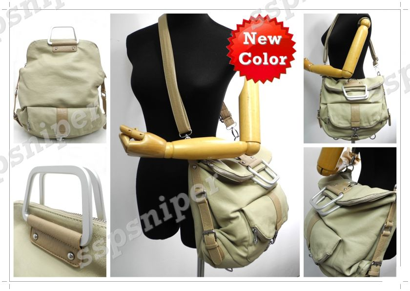 SYLISH 3 WAY Backpack Shoulder Crossbody Bag Handbag (5 Colors) #1830