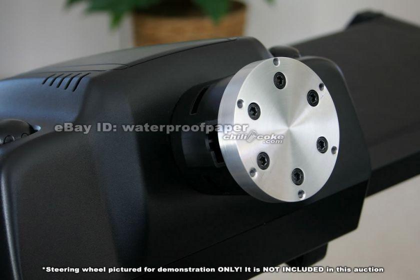 Custom Aluminum Steering Wheel Adapter for Logitech G25