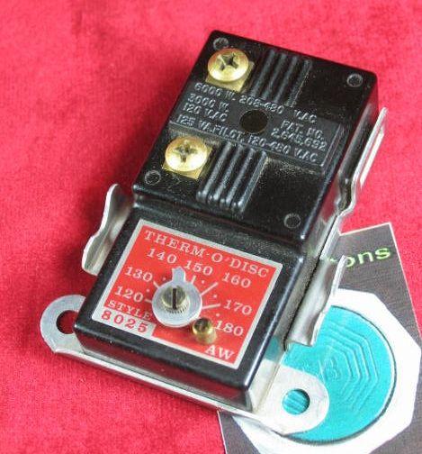 Therm O Disc 8025 120 180 deg Thermostat |